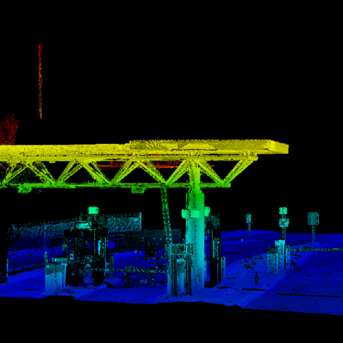 Nashville International Airport Mobile Lidar