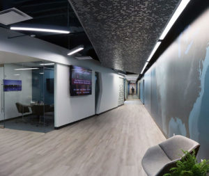 Continental Mapping HQ's lobby