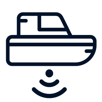 Hydrographic Survey Icon