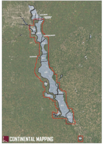 Overview of project location for Missouri River Levee District