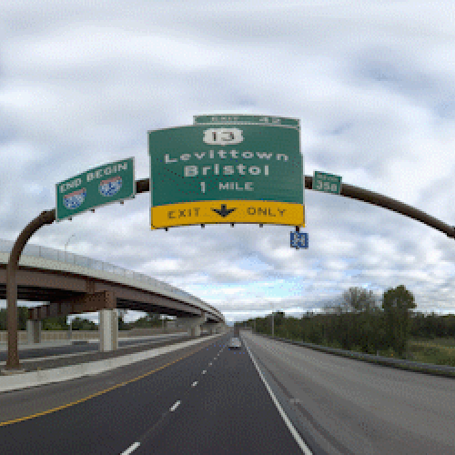 Pennsylvania Turnpike Sign Inventory