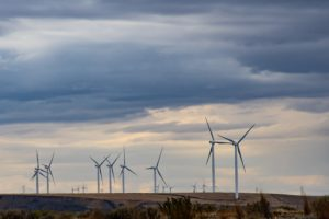 Wind turbines in rural environment