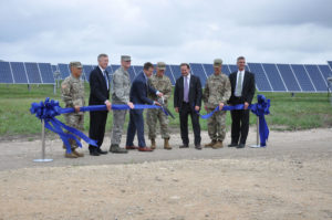 Ribbon cutting ceremony in June, 2017 (picture courtesty of Ft. Hood Sentinel)